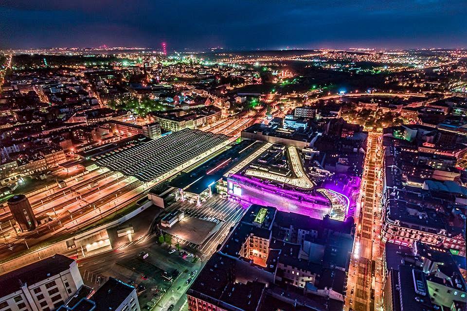 Katowice na osi czasu