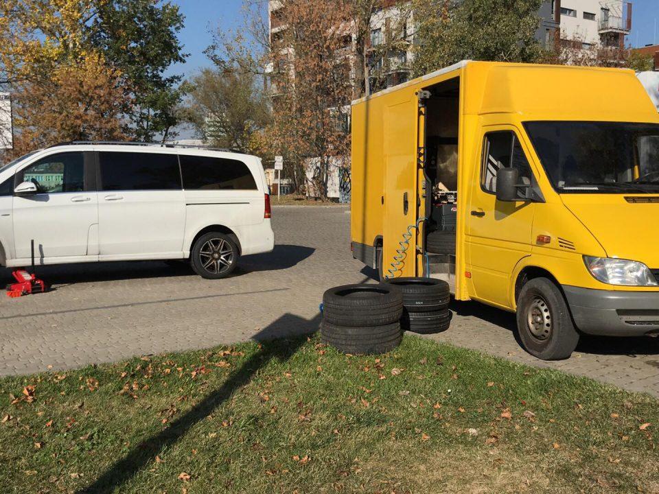Wulkanizacja mobilna Katowice